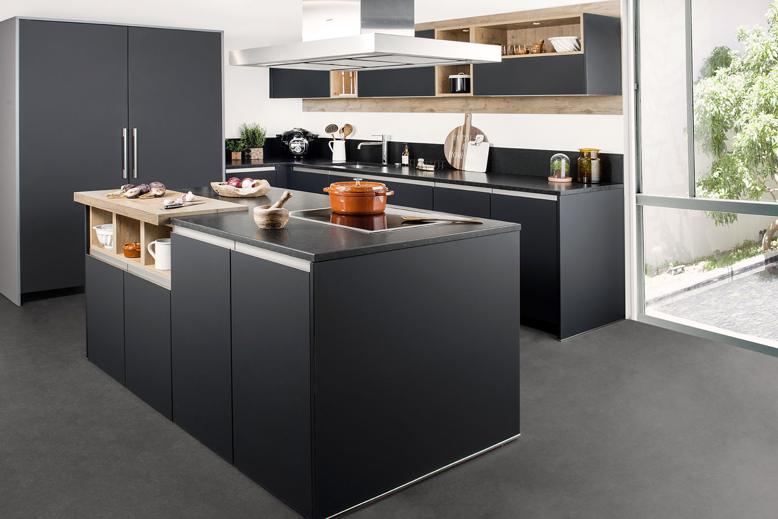 votre cuisine quip e sur mesure 100 personnalis e. Black Bedroom Furniture Sets. Home Design Ideas